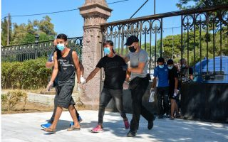 four-afghans-charged-with-arson-for-fire-at-lesvos-camp