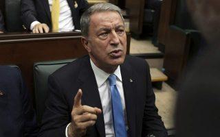 turkish-defense-minister-says-greece-should-demilitarize-islands
