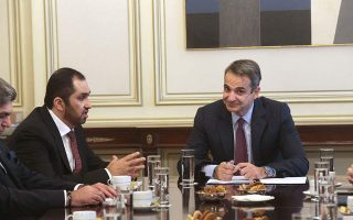 mitsotakis-meets-with-uae-s-al-jaber-in-athens