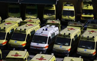 ambulance-staff-protest-against-suspension-of-unvaccinated-colleagues
