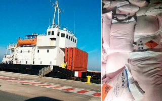 owners-of-arms-carrying-ship-stopped-off-crete-deny-wrongdoing