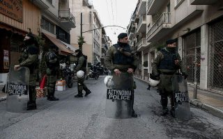 four-arrested-over-attack-against-athens-foundation