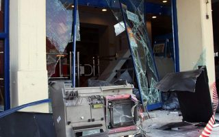 arsonists-flee-with-84-000-euros-after-blowing-up-bank-atm-in-halkidiki