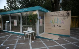 bakoyannis-campaign-kiosk-targeted-by-self-styled-anarchists