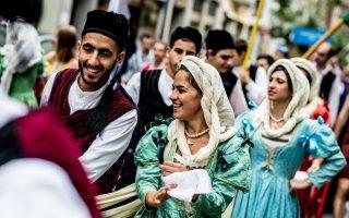 greek-folk-dancers-showcase-customs-in-germany