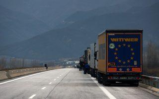 bulgarian-truckers-block-greek-border-over-farm-protest
