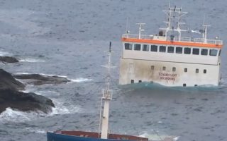 part-of-cabrera-cargo-ship-raised-from-the-sea-off-andros