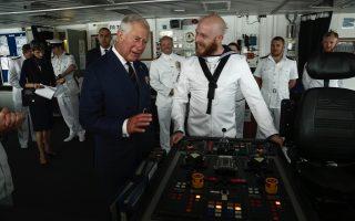 britain-s-charles-visits-port-of-piraeus