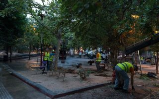 exarchia-square-being-spruced-up-after-crackdown