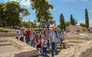 kids-become-archaeologists-for-a-day-at-ancient-corinth
