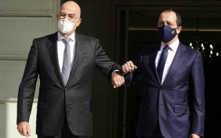 greek-fm-meets-with-cypriot-counterpart-ahead-of-trilateral-talks