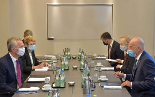 greek-fm-talks-with-nato-chief-on-sidelines-of-berlin-meeting