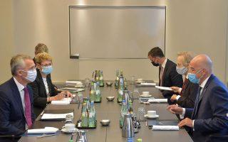dendias-stoltenberg-discuss-east-med