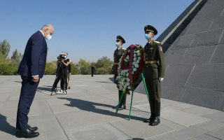 greek-fm-starts-yerevan-visit-lays-wreath-at-armenian-genocide-memorial