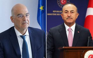greek-fm-meets-with-turkish-counterpart-on-sidelines-of-security-forum0