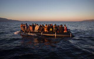frontex-intercepts-two-migrant-smuggling-boats-off-lesvos