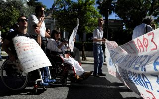 disabled-citizens-protest-against-cuts-outside-pm-s-office