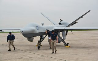 test-of-new-drone-s-capabilities-at-air-base