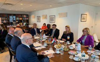 dendias-discusses-north-macedonia-albania-with-balkan-counterparts