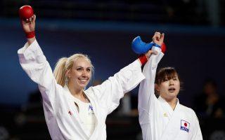 greek-karateka-wins-gold-in-madrid
