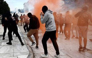 unrest-in-athens-after-protest-by-schoolchildren-hijacked-by-anarchists