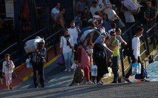 second-ferry-of-relocated-asylum-seekers-docks-in-thessaloniki