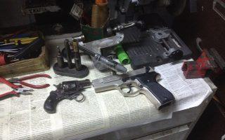 police-raid-two-gun-making-workshops-in-patra