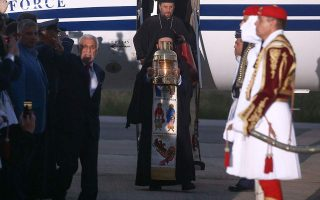 greek-bishop-skips-holy-flame-s-arrival-at-military-airport-outside-his-see
