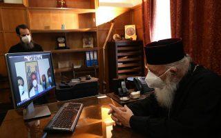 greek-archbishop-thanks-doctors-staff-in-covid-19-hospitals0