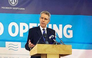 us-ambassador-hails-reopening-of-neorion-shipyard-on-syros-eyes-onex-move-to-elefsina