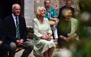 duchess-of-cornwall-visits-kaisariani-monastery
