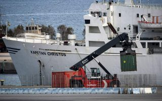 ship-carrying-explosives-seeks-shelter-in-thermaic-gulf