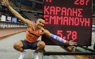 karalis-breaks-world-junior-record-in-pole-vault