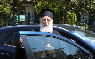 bishop-of-corfu-to-face-trial-on-may-25-after-illegal-service