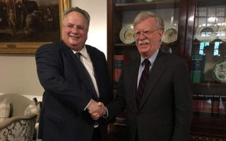 greek-fm-meets-bolton-at-the-white-house