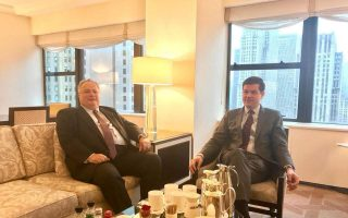 kotzias-mitchell-discuss-east-med-cooperation