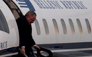 greek-fm-kotzias-begins-landmark-visit-to-skopje