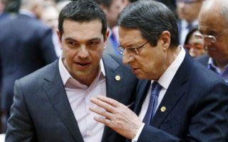 tsipras-anastasiades-meet-in-brussels