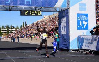 kenyan-lobuwan-wins-athens-marathon-the-authentic