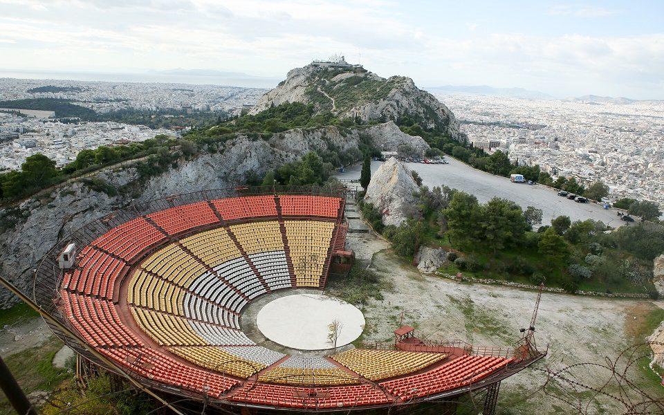 Lycabettus Theater makeover to build on mythological aesthetic |  eKathimerini.com