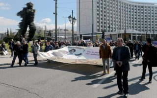 protest-marches-snarl-traffic-in-city-center