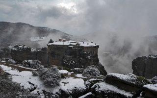 monastic-community-receives-dusting-of-snow