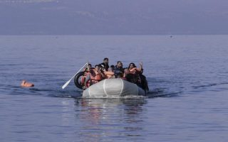 boat-with-53-iraqis-syrians-runs-aground-in-northern-greece