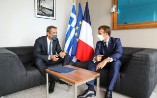 macron-mitsotakis-in-complete-agreement-over-turkey-athens-says