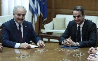 libyan-commander-thanks-mitsotakis-dendias-for-efforts