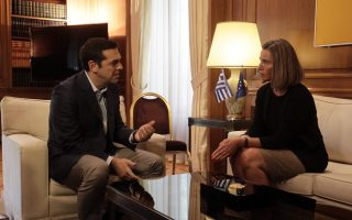 athens-focuses-on-cyprus-and-fyrom-during-mogherini-visit