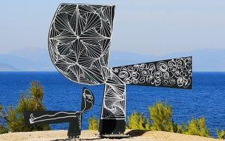moralis-sculpture-on-aegean-vandalized