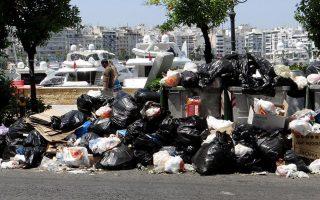 rubbish-piles-raise-health-fears-in-strike-hit-greece
