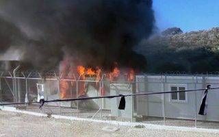 moria-camp-damaged-in-riots-as-rumors-fly