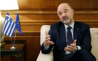 greece-must-speed-up-reforms-to-send-signal-to-markets-moscovici-says